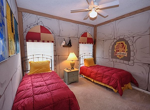 harry potter bedroom ideas-harry potter bedroom ideas-Harry Potter themed rooms