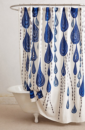 Jardin Des Plantes Shower Curtain $108.00