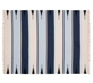 Pottery Barn Synthetic Serape Rug
